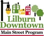 Lilburn Downtown Main Street Program logo