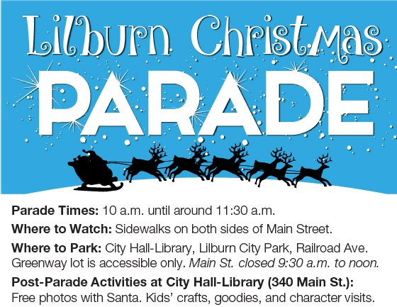 Lilburn Christmas Parade Information