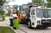 Advanced Disposal Truck