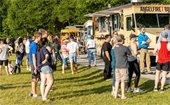 Food trucks in the park
