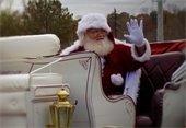 Santa Claus ends the Lilburn Christmas Parade