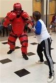 Women's Self Defense Class activity