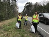Adopt-a-Road workers