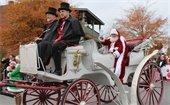 Santa Claus at the Lilburn Christmas Parade