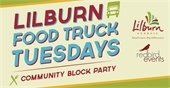 Lilburn Food Truck Tuesday text