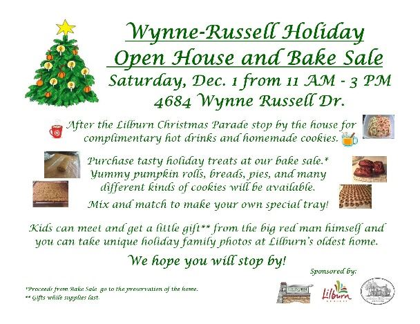 2018 Wynne-Russell holiday flyer