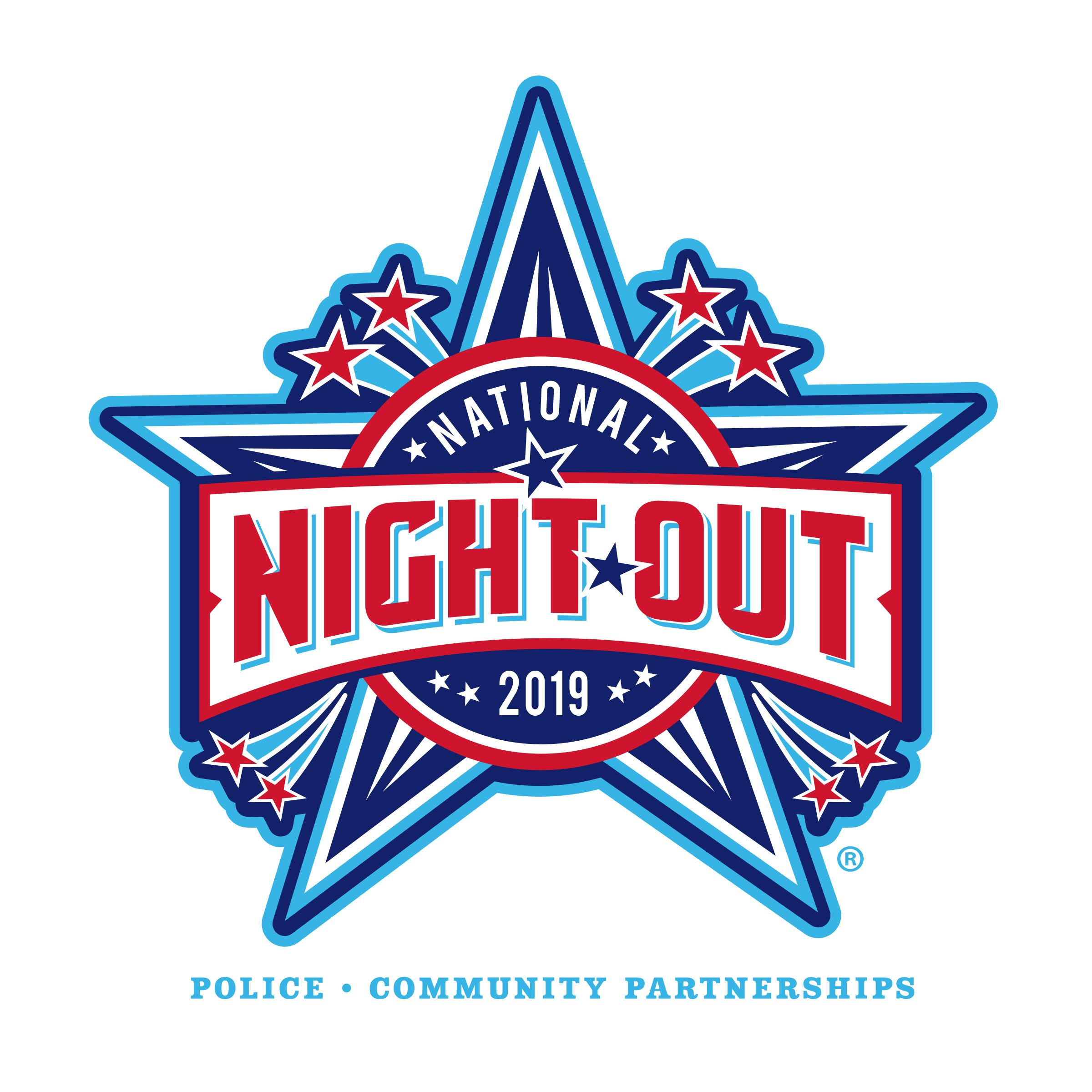 National Night Out logo 2019