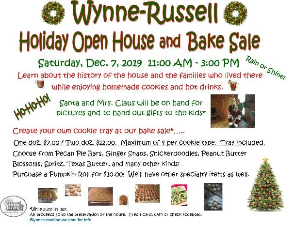 Wynne-Russell Open House Flyer 2019