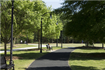 Lilburn City Park paved walkway